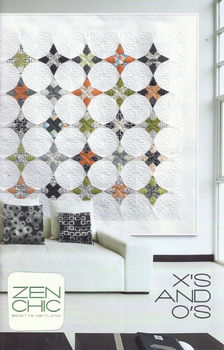 Zen Chic Pattern Xand39S AND Oand39S by Brigitte Heitland