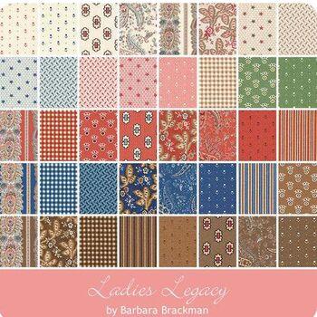 Ladies Legacy Layer Cake By Barbara Brackman For Moda Fabrics 8350LC
