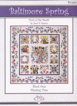 andquotBaltimore Springandquot  Block of the Month Applique Pattern