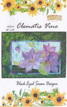 andquotNEWandquot Black Eyed Susan Designs Quilt Pattern Clematis Vine