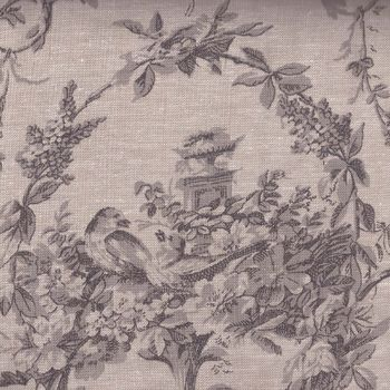andquotNEWandquot Mas Dand39Ouvan French Linen Quilting Fabric Melaine Chambray
