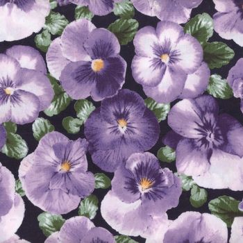 andquotNEWandquot Sevenberry Cotton Quilting Fabric andquotPansyandquot