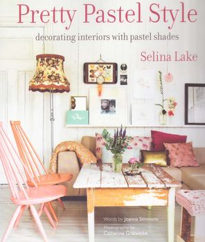 andquotNewandquot Pretty  Pastel Style Decorator Book by Johanna Simmons