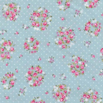 andquotNewandquot Sevenberry Floral Cotton Quilting Fabric