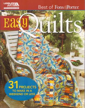 easy quilts the best of fons and porter