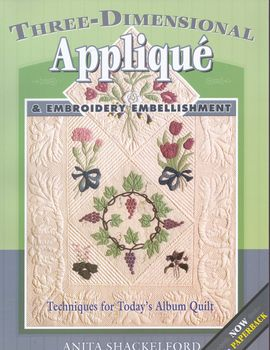 threedimensional applique from anita shackleford