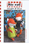 ginger and blue toy foxes by ric rac