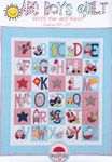 abc boys quilt by bronwyn hayes red brolly pattern