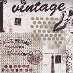 vintage scrapbook for benartex by michelle damore