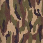 Camouflage Flannel Fabric by AE Nathan 5251-33