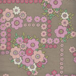 A Ghastlie Bouquet By Alexander Henry Fabrics 8789 A Caramel/Pink