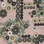 A Ghastlie Bouquet By Alexander Henry Fabrics 8789 C Dusky Pink