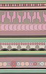 A Ghastlie Trim By Alexander Henry Fabrics 8795 AR Caramel/Pink/Black/Cream/Pink