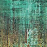 Abandoned 2 by Tim Holtz for Free Spirit PWTH138 Patina.