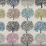 Alexander Henry A Ghastlie Orchard Fabric 8385B Tea Multi