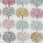Alexander Henry A Ghastlie Orchard Fabric 8385A Naural Multi