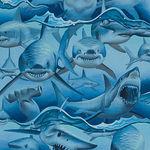 Alexander Henry Dangerous Waters-Sharks  8725 AR