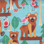 Alexander Henry Fabric Bearly There  8290A Aqua