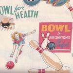 Alexander Henry Fabric Bowl For Health 6153 G Tea
