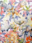 Alexander Henry Kendi Safari Fabric DE 8235