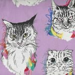 Alexander Henry Meow Wow Wow Fabric 8452-A Lavender