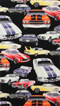"Alexander Henry ""Pure Muscle"" Car Fabric 6319 Colour B"