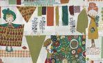 Alexander Henry Woodland Wash Fabric DE8439 AR