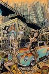 Alexander Henry Zombie Apocalypse Fabric 8488-A