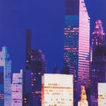 Alexander Henry Big City Dark Blue 8225