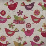 Animal Party Printed in Japan Cotton/Linen Blend 67760 col 2