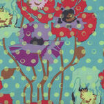 Anna Maria Horner Field Study from Free Spirit Fabric PWAH050.Candy Raindrops Po