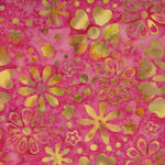 Anthology Batik for Fern Textiles 3040Q-X Pink Jacqueline De Jonge