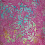 Anthology Batik for Fern Textiles 836Q-2 Pink Multi