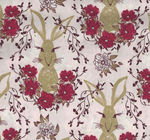Art Gallery Fabrics Forest Floor Rabbit FOR-37702 In The Thicket Dawn