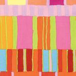 Artisan By Kaffe Fassett PWKF003 Orange Layered Stripe