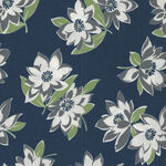 At Home By Bonnie And Camille For Moda Fabrics M55200-21C Navy.