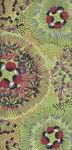 Australian Bush Plum Green Cotton Fabric from M&S Textiles