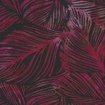Bali Handpaints by Hoffman HQ2138 085 Large Leaf Color Blackberry