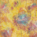 Bali Handpaints by Hoffman HQ2151 145 Dandelions Color Spring