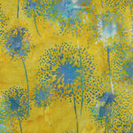 Bali Handpaints by Hoffman HQ2151 523 Dandelions Color Citrus