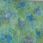 Bali Handpaints by Hoffman HQ2151 560 Dandelions Color Tide Pool