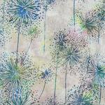 Bali Handpaints by Hoffman HQ2151 633 Dandelions Color Prism