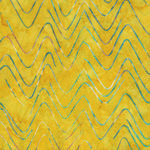 Bali Handpaints by Hoffman HQ2158 523 Wavy Chevron Color Citrus