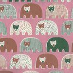 Bears Speciality Japanese Cotton Fabric 1021-1210 Colour 3B Peach.