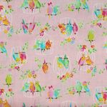 Birds by KOKKA Fabrics Cotton IGA-20170 1B11