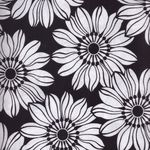 "Black and White ""Jet Setter"" Patchwork Fabric by Marcus Fabrics"