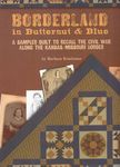 Borderland In Butternut and Blue by Barbara Brackman