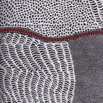 Bush Onion Dreaming Black by Jean Nampajinpa Hudson for M&S Textiles