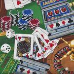 Casino From Timeless Treasures Fabrics TTC1450 Colour Green.