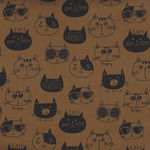 Cats By KOKKA Cotton/Linen PA44700 702C14